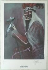 cromwell - le dernier des mohicans- ex libris numéroté signé