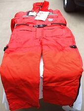 STEARNS I580 ANTI-EXPOSURE WORK SUIT, ORANGE, ADULT LARGE, USCG LABELLED, NEW