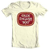 Olde English 800 T-shirt beer malt liquor retro Colt 45 100% cotton graphic tee