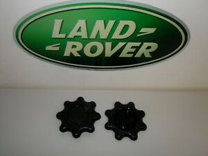 Discovery 2 - Seat Adjuster Wheel - Both Parts - 2002 - 2004 in Black