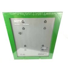 """New Ikea Nyttja Green Picture Frame 8.75"""" x 11"""" Sealed Discontinued"""