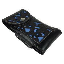 Western Cowboy Cowgirl Belt Pouch Leather Loop Holster Cell Phone Case Holder