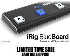 NEW IK Multimedia iRig Blueboard Wireless Bluetooth Midi Pedalboard