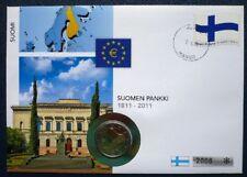 100 Jahre Gleichberechtigtes Wahlrecht 2006 St Nach Euro-einführung 2 Euro Numisbrief Finnland