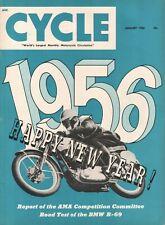 1956 January Cycle - Vintage Motorcycle Magazine