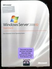 Factory Sealed - Microsoft Windows Server 2008 R2 Standard 5 CAL