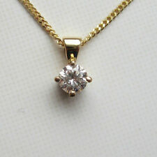 Diamond Not Enhanced Fine Necklaces & Pendants