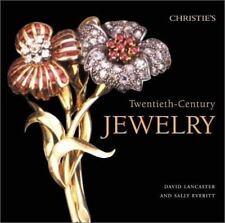 Christie's Twentieth-Century Jewelry Book by David Lancaster, Sally Everitt