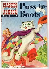 Classics Illustrated Junior #511 Featuring Puss-N-Boots - HRN #526, VG - Fine!
