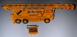 NZG Model Pile Driver #239 - O-Scale - Been on Layout Many Years - Very Good