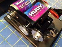 Hudy 103100 Slot Car Tire Truer 1/8 & 3/32 Axles