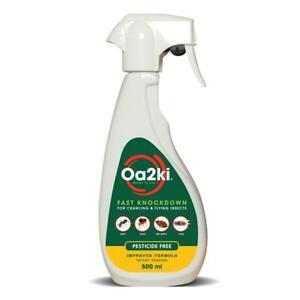 OA2Ki Natural Organic Food Moth Killer Spray (500ml)