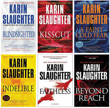 Karin Slaughter GRANT COUNTY Series Paperback Thrillers Collection of Books 1-6!