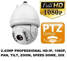 Xvision 2.43MP Profesional 1080P PTZ IP Cámara Domo De Velocidad Zoom 320x 120mIR 20X