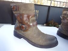 PANTANETTI by RICCARDO CARTILLONE Stiefeletten Wildleder Vintage Italy Gr.38 TOP