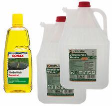1L. Sonax ScheibenWash Konzentrat Citrus-Duft + 10 Liter destilliertes Wasser