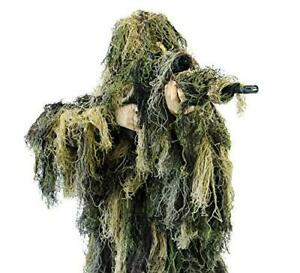 Arcturus Warrior Ghillie Suit | Hunting Clothes for Men | 5-Piece Camouflage
