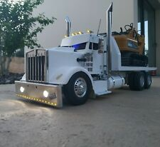 Tamiya 1/14 King Hauler 6x4 Recovery Truck RC Lowrider Custom Hot Rod + Receiver