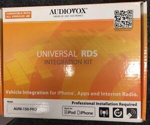 Audiovox AUNI-150-PRO NEW iPod® Interface & FM Modulator w/ RDS Text BRAND NEW!!