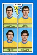 CALCIATORI PANINI 1971-72 - Figurina-Sticker -FRANCESCHI MAZZETTI -MODENA-Rec