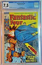 Marvel Comics The Fantastic Four #95 Feb. 1970 CGC 7.5 Stan Lee Jack Kirby