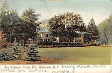 c.1905 Home Hodgman Estate East Greenwich RI post card