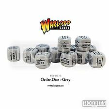 Bolt Action Ww2 28mm Grey Order Dice X 12
