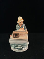 Sebastian Miniature Sml-065B Lobsterman - Hudson 6201 Signed