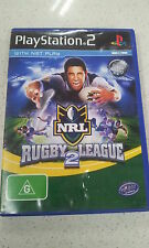 nrl rugby league 2 ps2