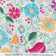Patchwork By the Metre - Seasons by Christine Graf - Clothworks - Bright Florals