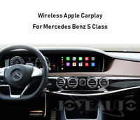 Wireless Apple Carplay Module Android auto For Mercedes Benz S Class NTG 5.0