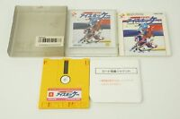 Konami Ice Hockey NES Konami Nintendo Famicom Disk System Box From Japan