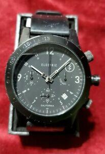 Black Electric california watch