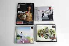 Lot of 4 Japanese Import Video Games Dreamcast PS2 Playstation PSX Soukaigi