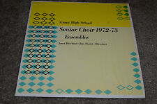 Grant High School Senior Choir 1972-73 Ensemble~Janet Howland~Jess Foster