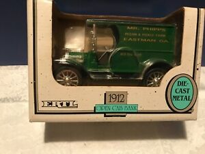 1912 FORD OPEN CAB TRUCK MR PHIPPS Pecan & Pickle Farm 1992 DIECAST ERTL BANK