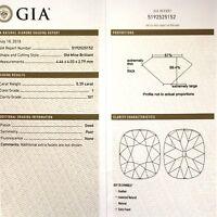 GIA certified loose .39ct SI1 I Old Mine European round diamond estate vintage