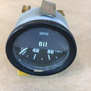 OEM Jaguar XJ6 Series 2 Oil Pressure Gauge Smiths ACP2203/01 Original Part