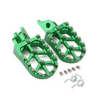 CNC MX Foot Pegs Rests Pedals For Kawasaki KLX450 KX250F KX450F KXF250 KXF450