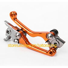 US For KTM 450XC-F 2013 CNC Pivot Brake Clutch Levers Motocross Dirt Pit Bike