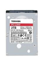 "Toshiba 2TB 2.5"" Internal HDD Hard Disk Drive 9.5mm SATA 6GB 128MB Cache L200"