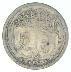 1916 Egypt 5 Piastres - TC *716