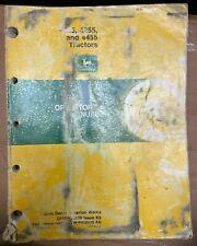 John Deere 4055 4255 And 4455 Tractors Operator Manual Omrw25629 K9 U 11