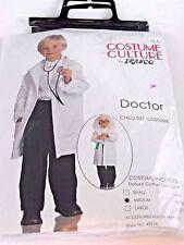 Doctor Lab Coat Medium/8-10 Child Costume Halloween Party Birthday Dress up