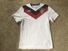 GLASGOW RANGERS Scotland SPL Soccer Jersey THE GERS Football Shirt Mens Sz S
