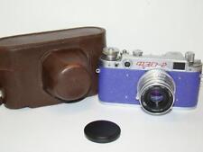 FED 2 (type b) Purple body Soviet 35mm Rangefinder Camera, Industar-26m (2.8/50)