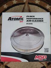 "Msd Atomic 14"" Air Cleaner Kit P/N 2895 Fits Efi P/N 2900 and any 5 1/8"" Barrel"