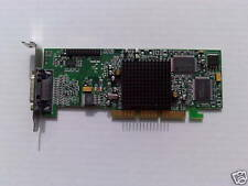 DELL 5M801 / 05M801 SMALL FORM FACTOR DUAL MATROX G550 32MB AGP GRAPHICS CARD
