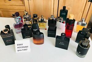 Bvlgari,Hermes,Hugo,Davidoff,Drakkar,Encre,Armaf,Montblanc,2ml Sample Perfume5ml