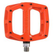 DMR V12 Flat wide Mountain MTB bike Flattie Freeride pedals - Orange